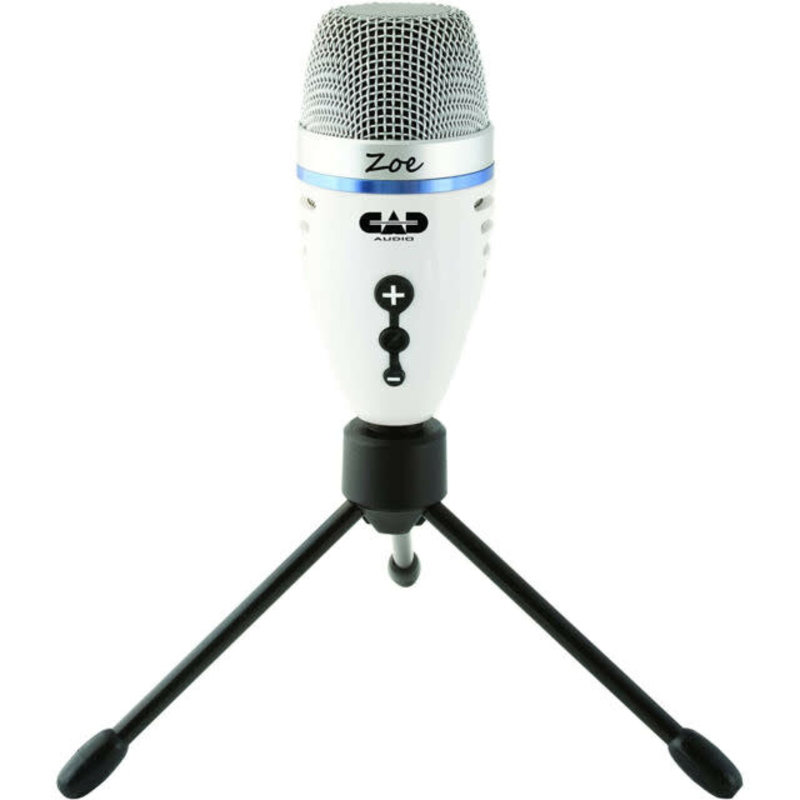 CAD Zoe USB Microphone w/Headphone Port