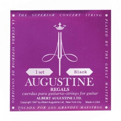 Augustine Classical Strings Black Low Tension AR-BK