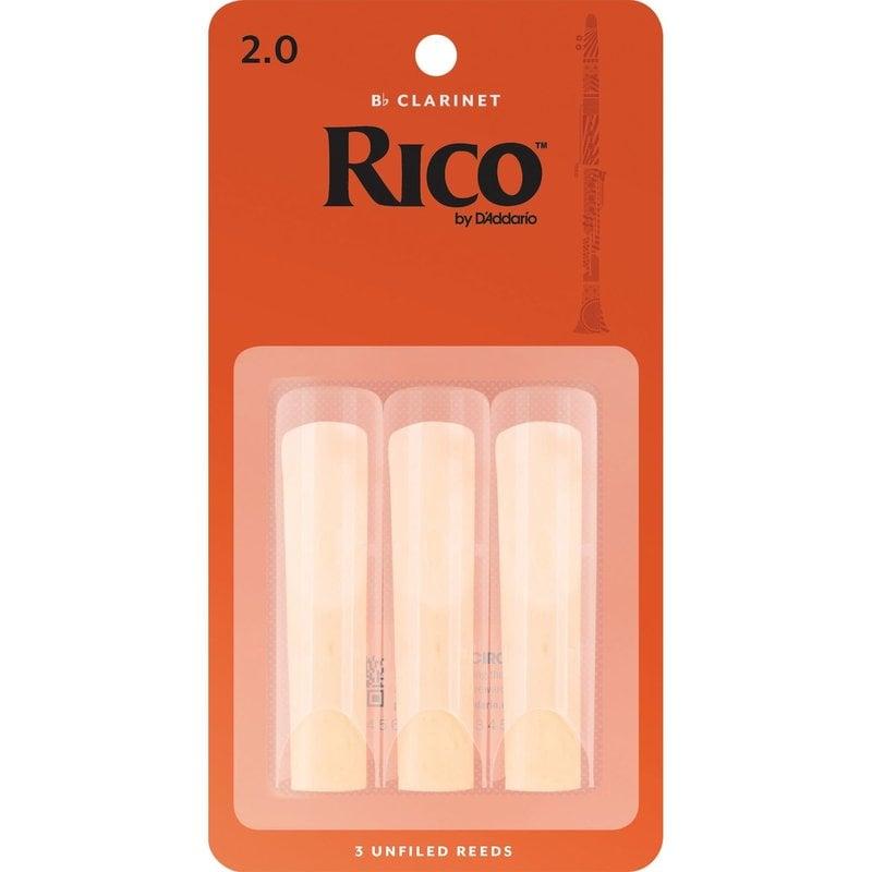 Rico Clarinet Reed 3 Pak - #2  RCA0320