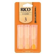 Rico Clarinet Reed 3 Pak - #3  RCA0330