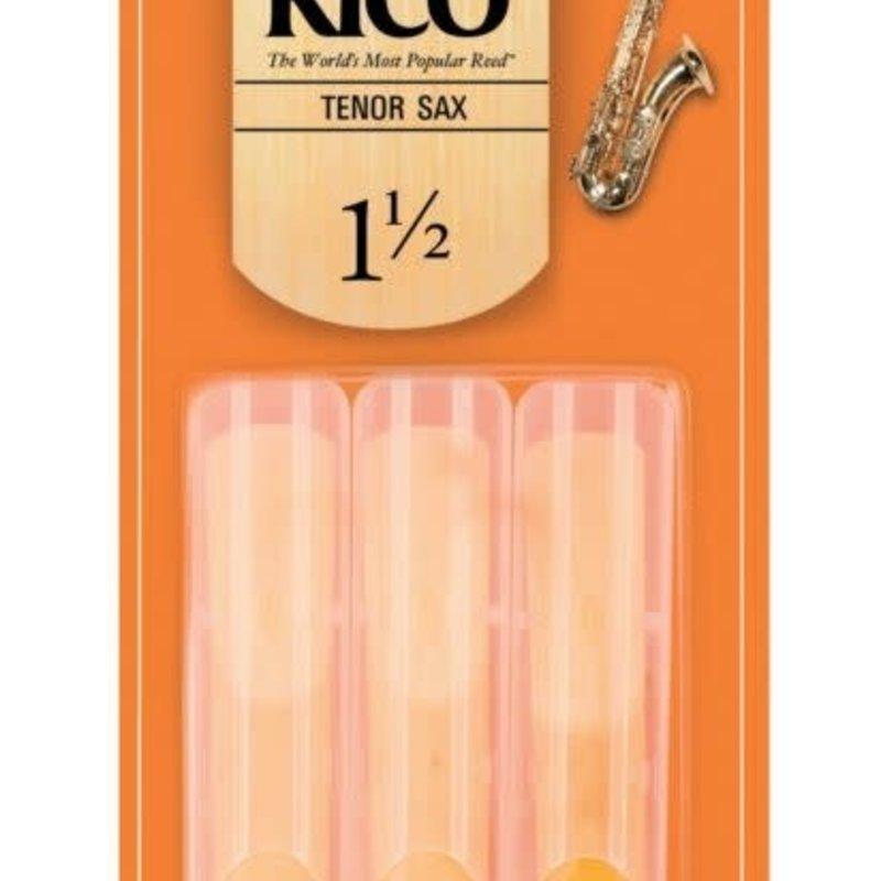 Rico Tenor Sax Reed 3 Pk -#1.5 RKA0150