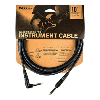 D'addario D'addario 10ft Patch Cable PW-CGTRA-10