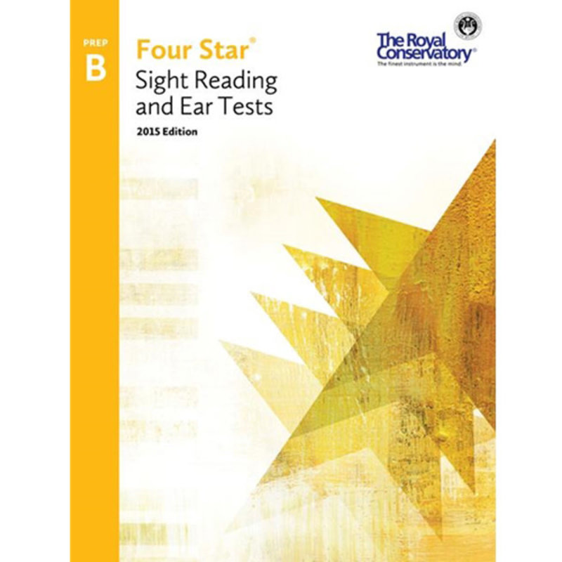 RCM Piano Prep B 2015 Four Star Sight And Ear