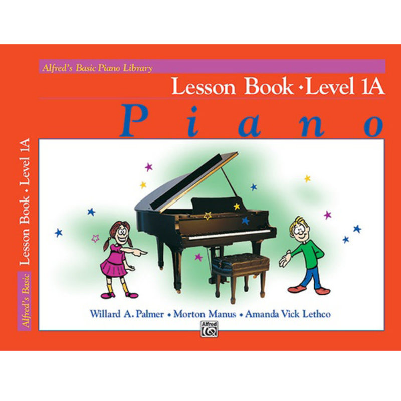 Alfred Basic Piano Lesson Book Lv 1A