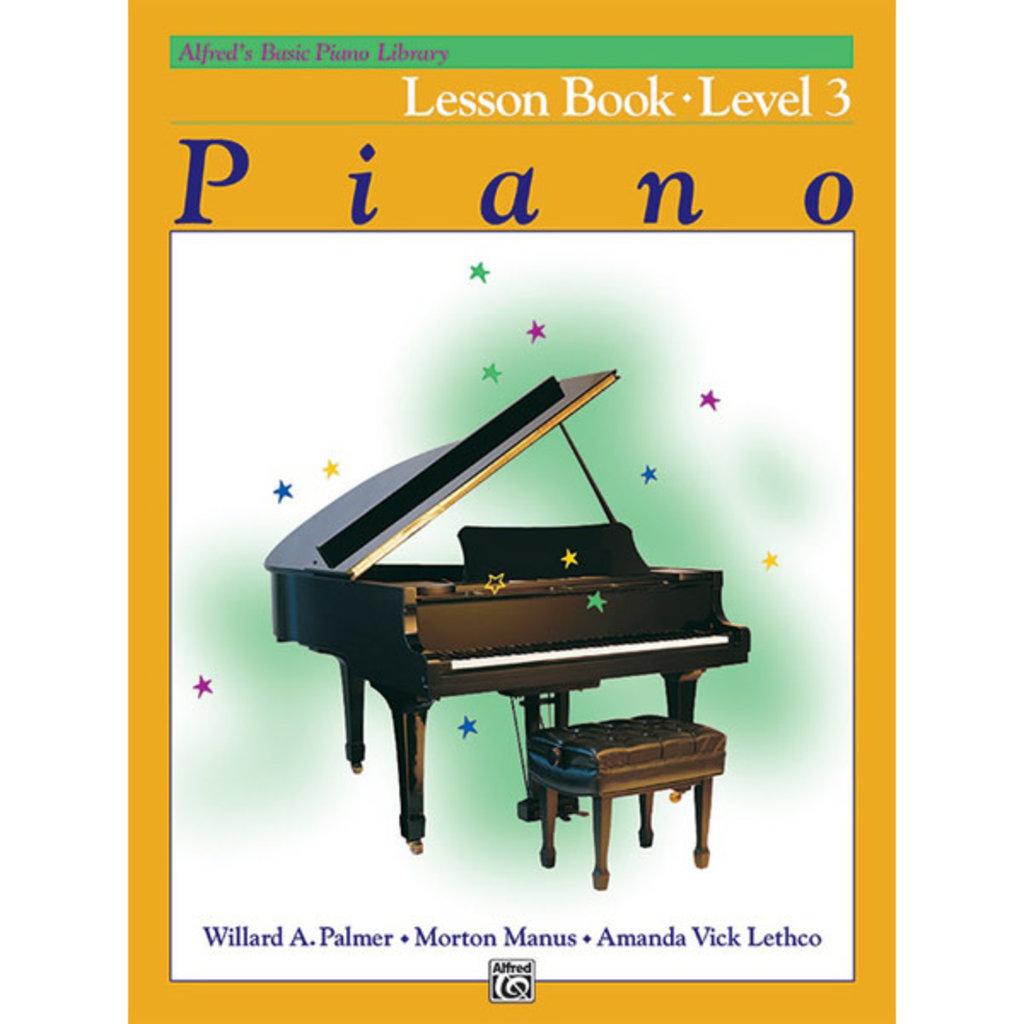 Alfred Basic Piano Lesson Book Lv 3
