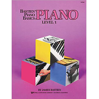 Bastien Piano Basics Level 1 (Lesson Book)