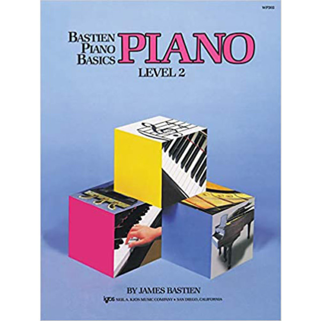 Bastien Piano Basics Level 2 (Lesson Book)