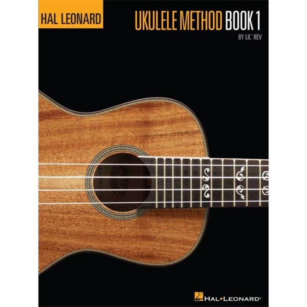 Hal Leonard Ukulele Method Bk 1 w/Audio
