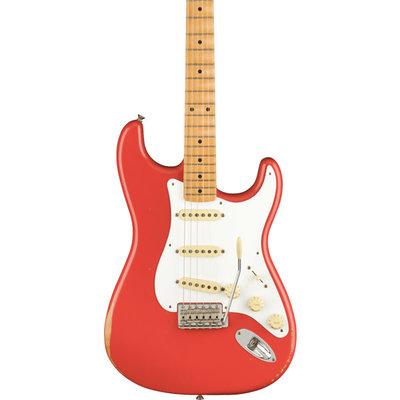 Fender Fender Vintera Road Worn '50s Stratocaster, Maple Fingerboard, Fiesta Red