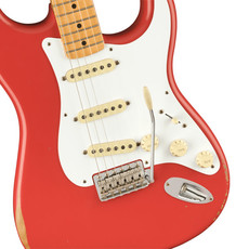 Fender Fender Vintera Road Worn '50s Stratocaster, Maple Fingerboard, Fiesta Red