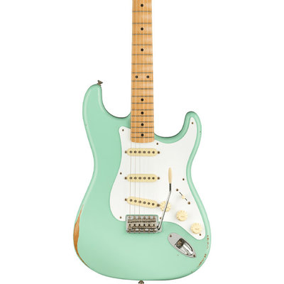 Fender Fender Vintera Road Worn '50s Stratocaster, Maple Fingerboard, Surf Green