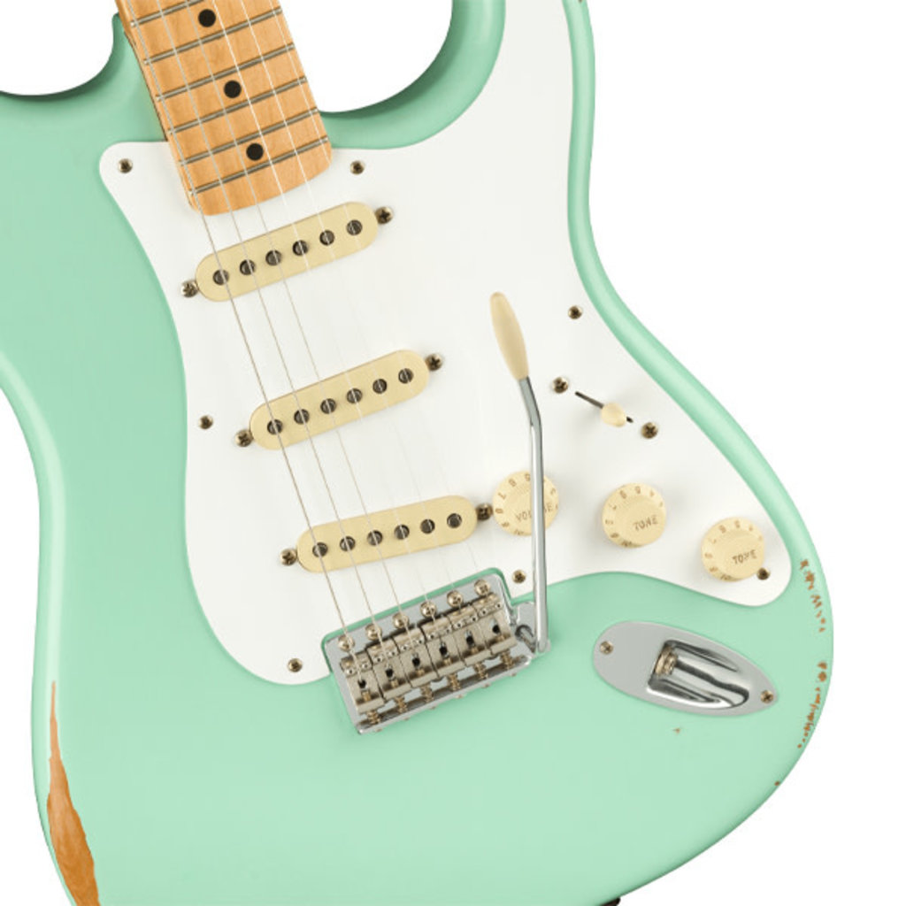 Fender Fender Vintera Road Worn '50s Stratocaster, Maple Fingerboard, Surf Green