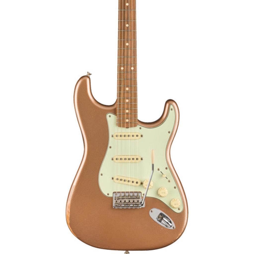 Fender Fender Vintera Road Worn® '60s Stratocaster, Pau Ferro Fingerboard, Firemist Gold