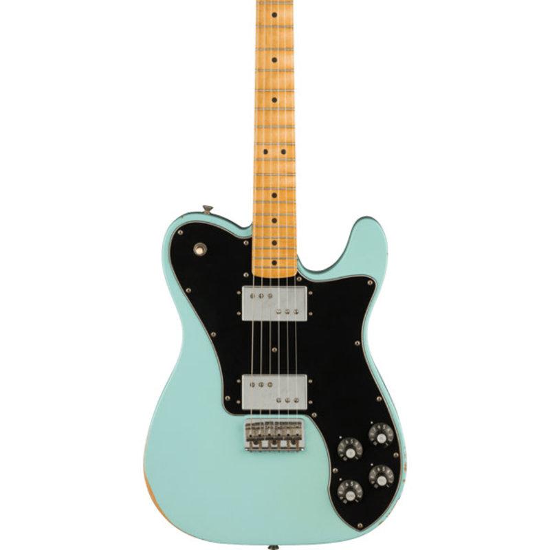 Fender Fender Vintera Road Worn '70s Telecaster Deluxe - Daphne Blue