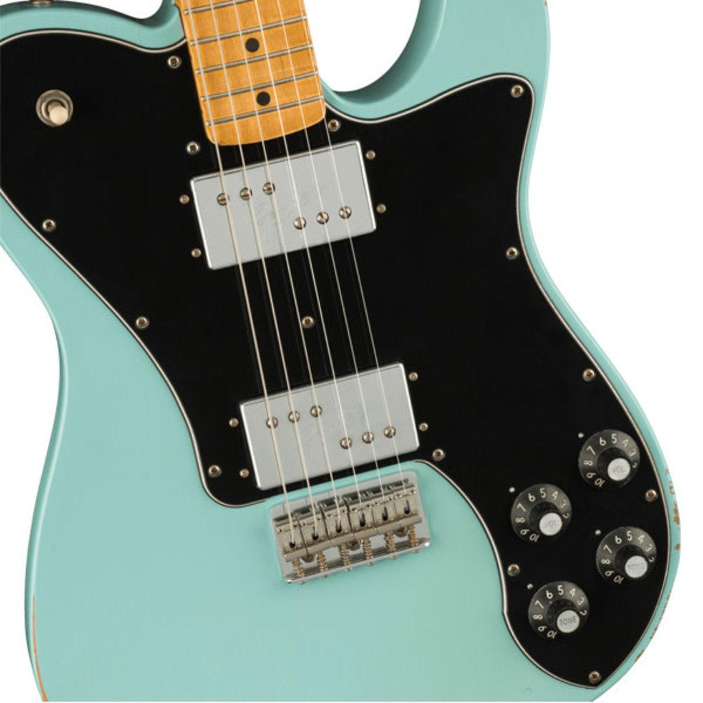Fender Fender Vintera Road Worn '70s Telecaster Deluxe, Maple Fingerboard, Daphne Blue