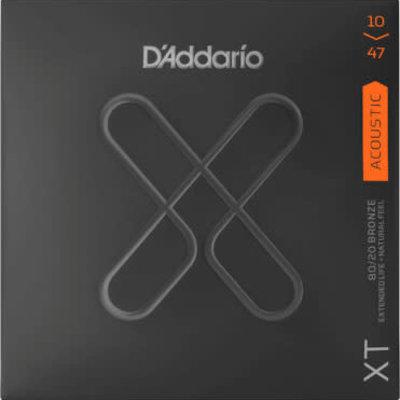 D'addario D'addario XTABR1047 Acoustic Strings Xtra Light