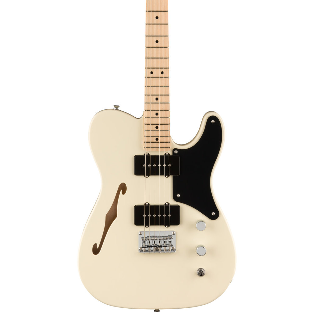 Fender Squier Paranormal Cabronita Tele Thinline Olympic White