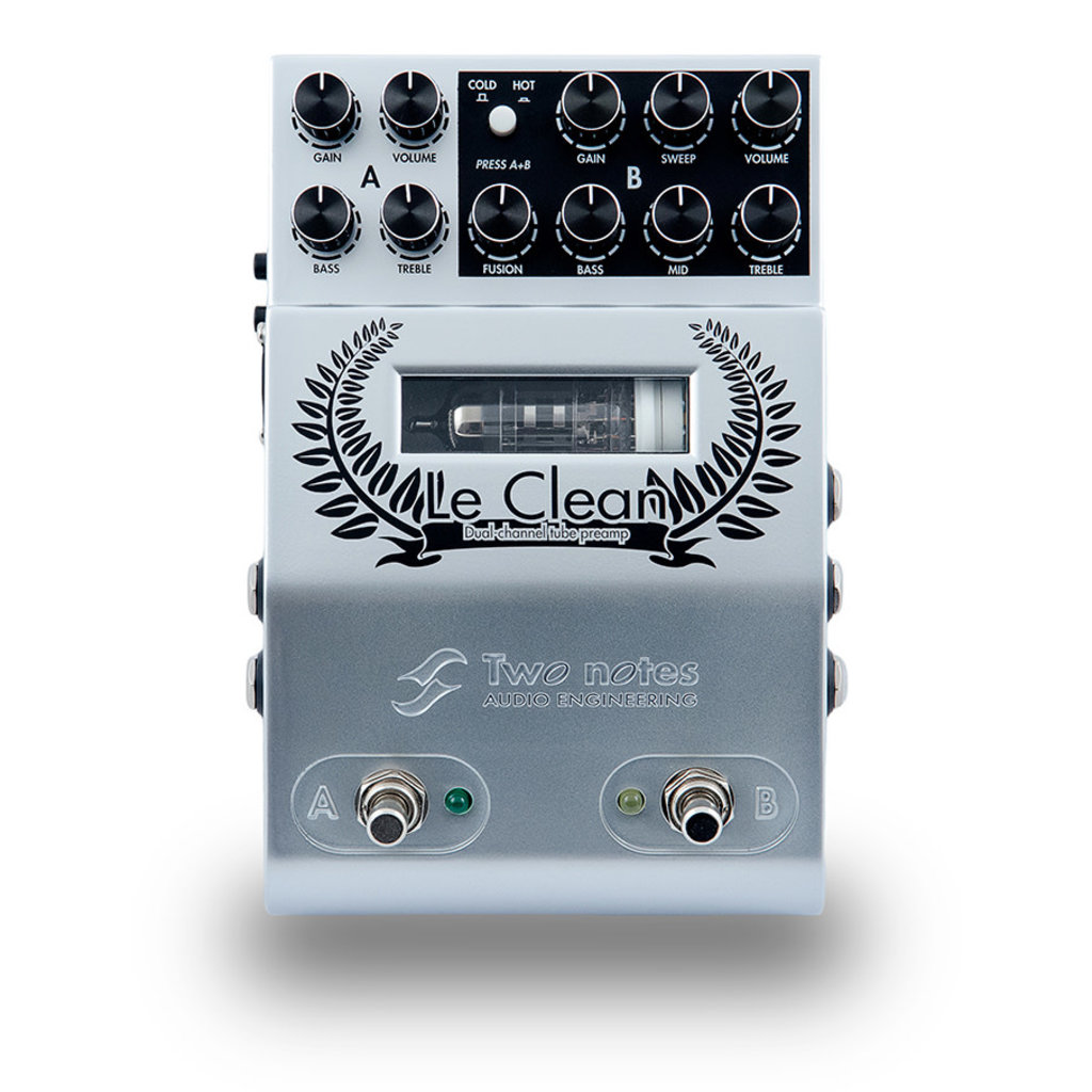 Two Notes Two Notes - Le Clean 2 CHAN Preamp Pedal