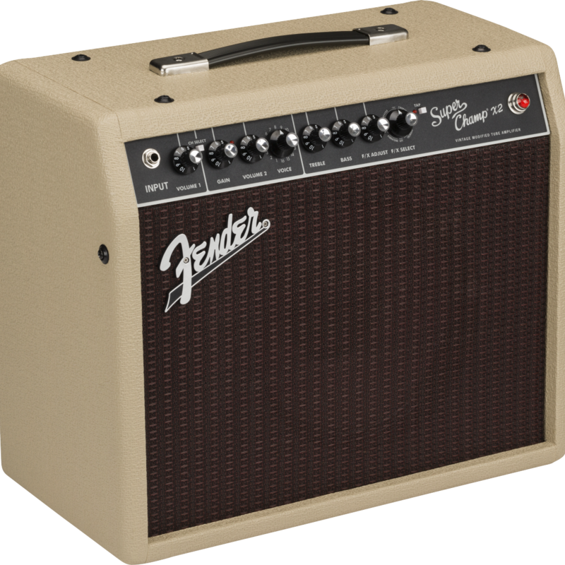 Fender Fender 2020 Limited Edition Super Champ™ X2 Cajun, Blonde, 120V