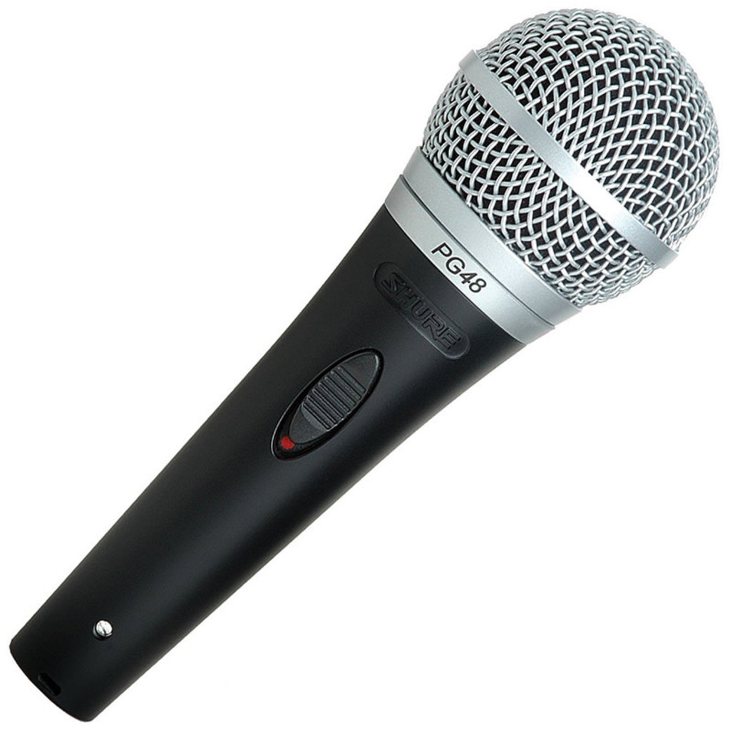 Shure PGA48 QTR Dynamic Microphone with Cable