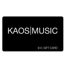 Kaos Music Gift Card $10