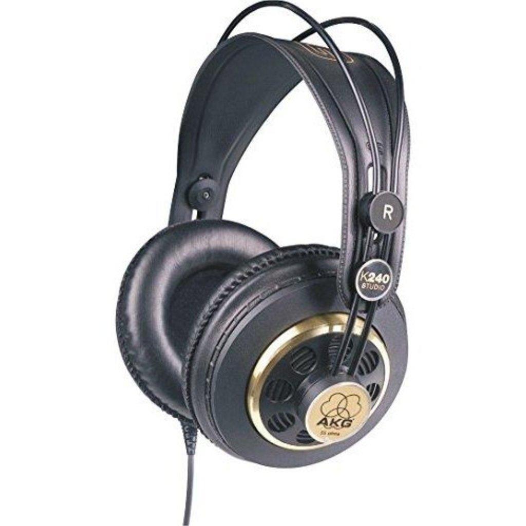 AKG AKG K240- Studio Pro Audio Semi-Open Studio Headphones
