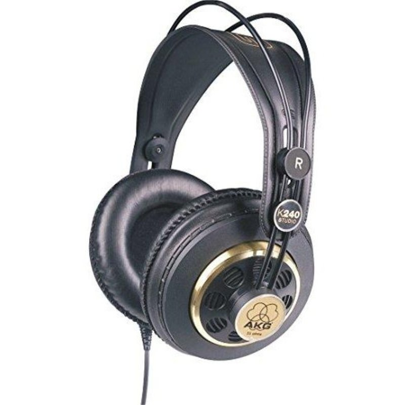 AKG AKG K240- Studio Pro Audio Semi-Open Studio Headphones
