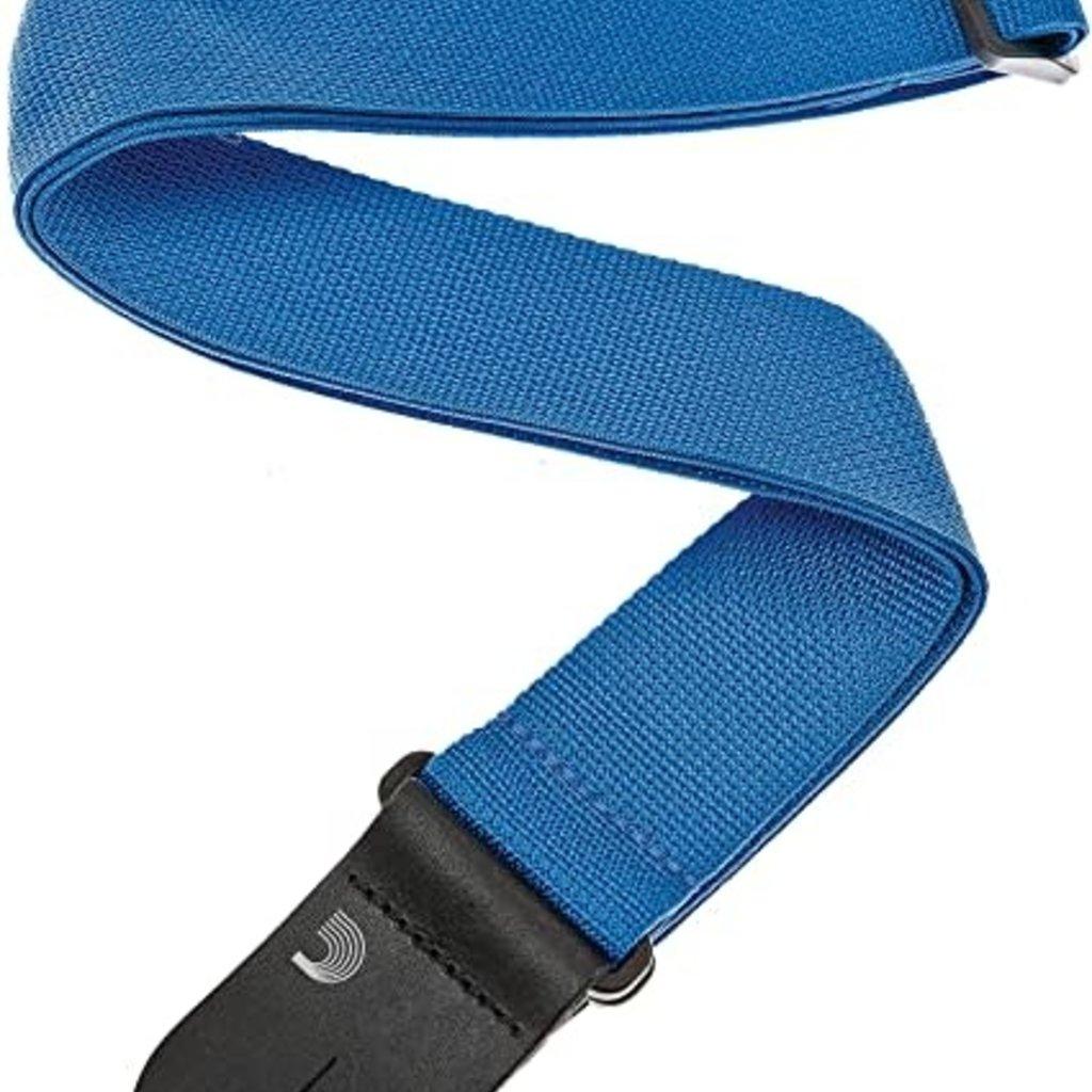 D'addario D'addario 50PWS02 Guitar Strap Blue