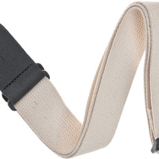 D'addario D'addario Cotton Guitar Strap Natural 50CT01