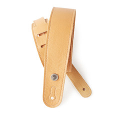 D'addario D'addario 20GL03 Leather Guitar Strap Yellow