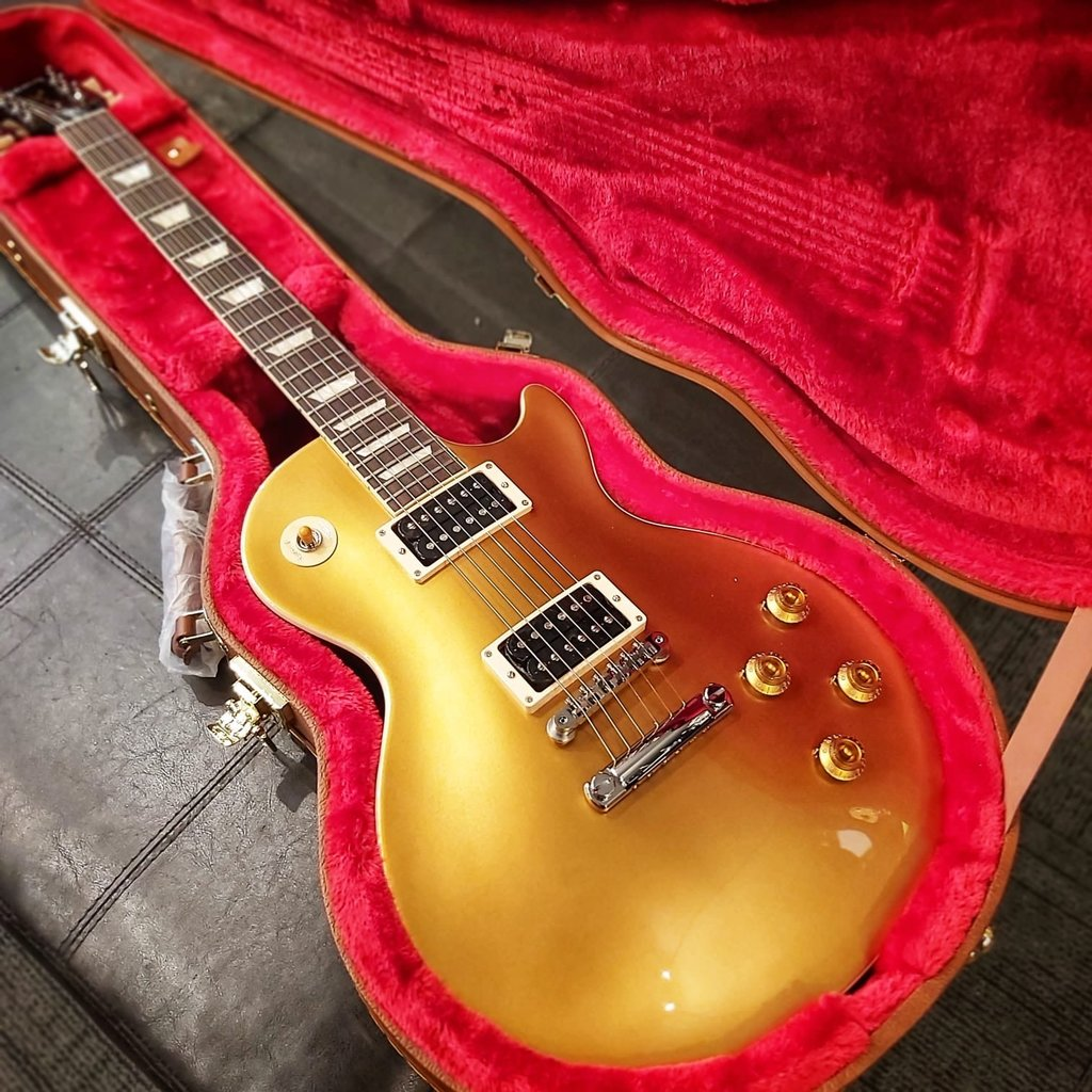 "Gibson Gibson USA Slash ""Victoria"" Les Paul Standard Gold Top"