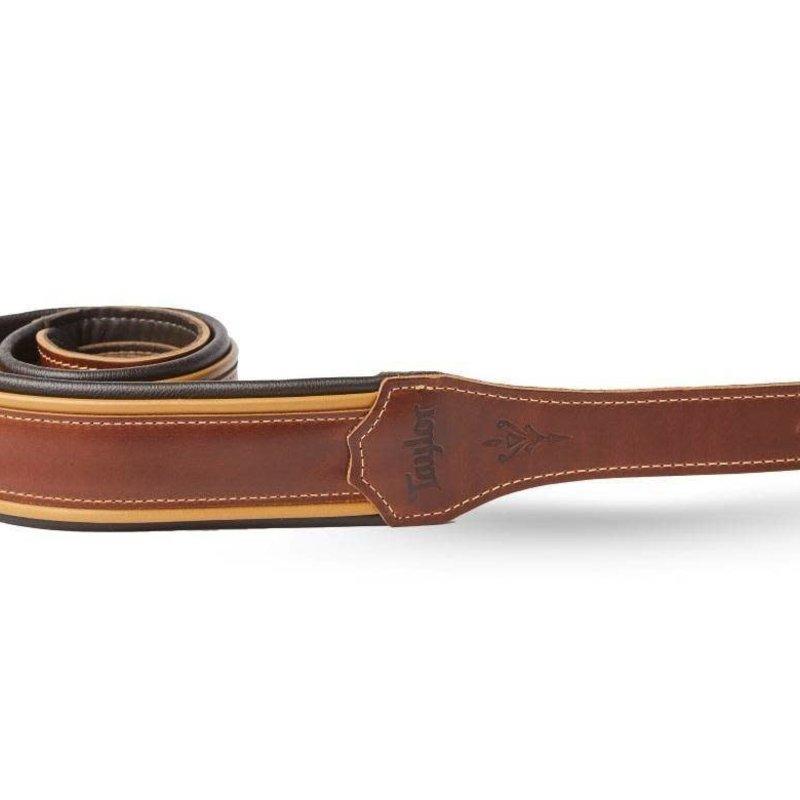 "Taylor Guitars Taylor Century 2.5"" Leather Guitar Strap - Butterscotch"