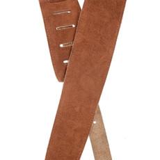 D'addario D'addario 25LSS02-DX 2.5 DX Suede Guitar Strap Honey