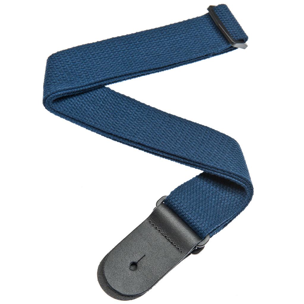 D'addario D'addario Cotton Strap Blue Guitar Strap50CT03
