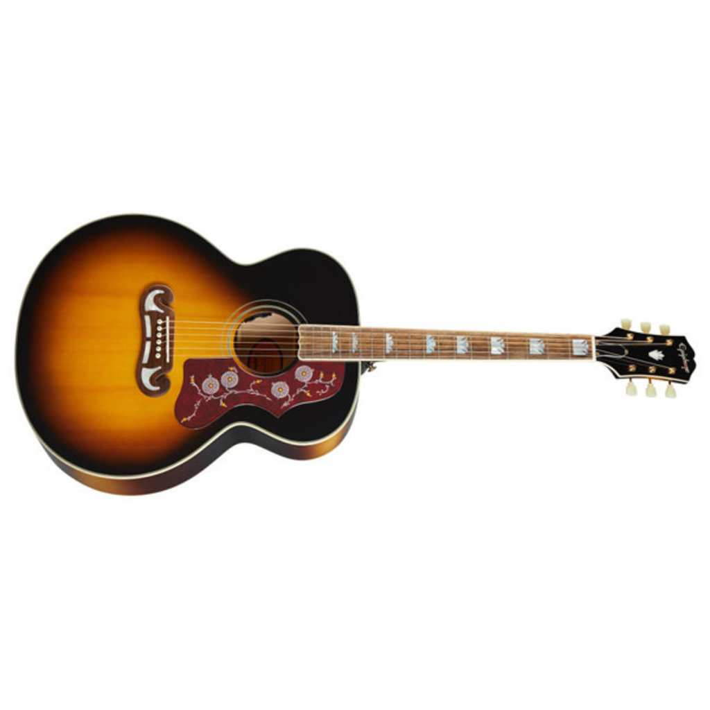 Epiphone Epiphone Inspired by Gibson Masterbilt J-200 Vintage Sunburst