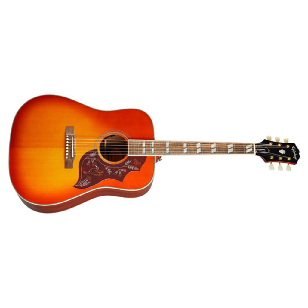 Epiphone Epiphone Inspired by Gibson Masterbilt Hummingbird - Cherry Burst