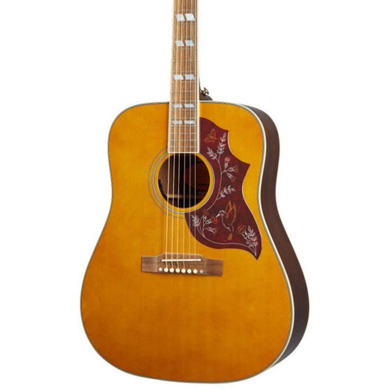 Epiphone Epiphone Inspired by Gibson Masterbilt Hummingbird - Natural Antique