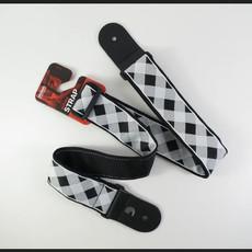 D'addario D'addario  50GCW01 Buffalo Checkered Black/White Guitar Strap