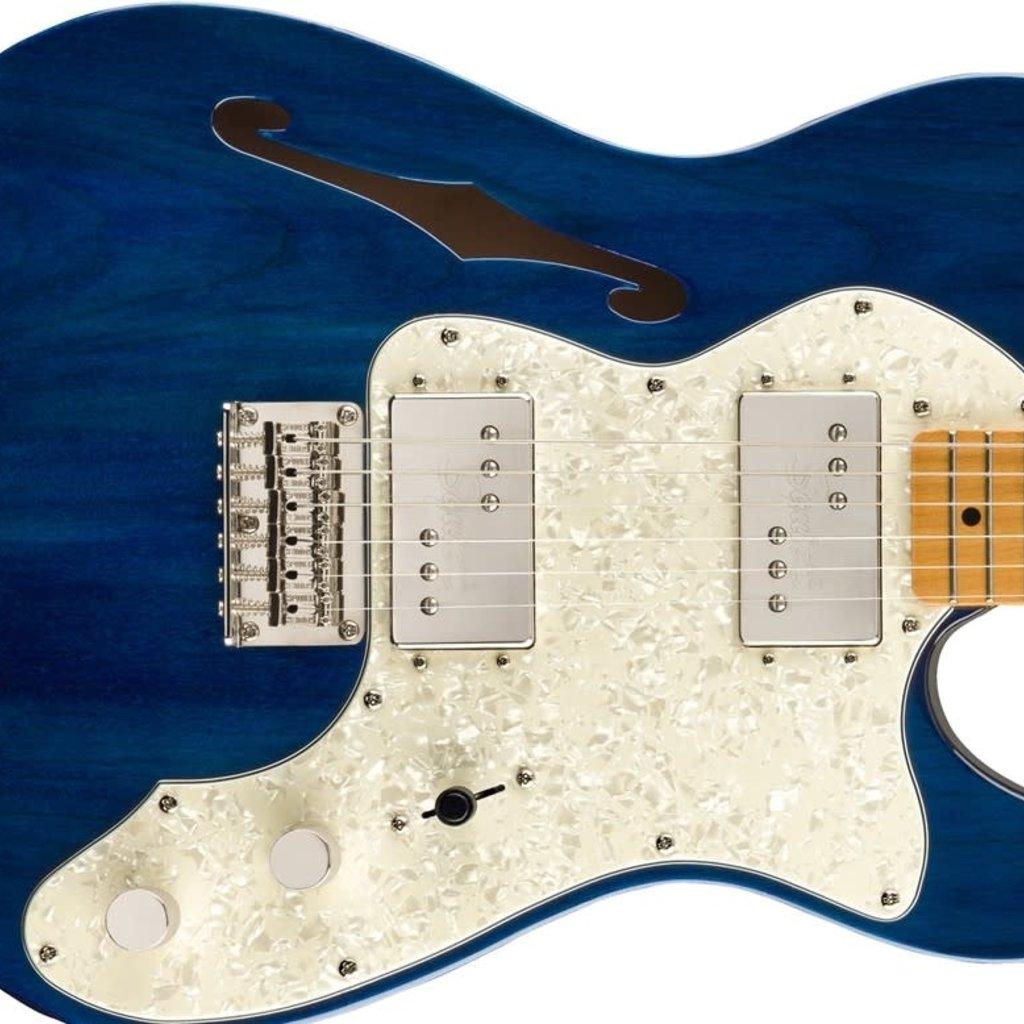Fender Squier Classic Vibe '70s Telecaster Thinline - Sapphire Blue