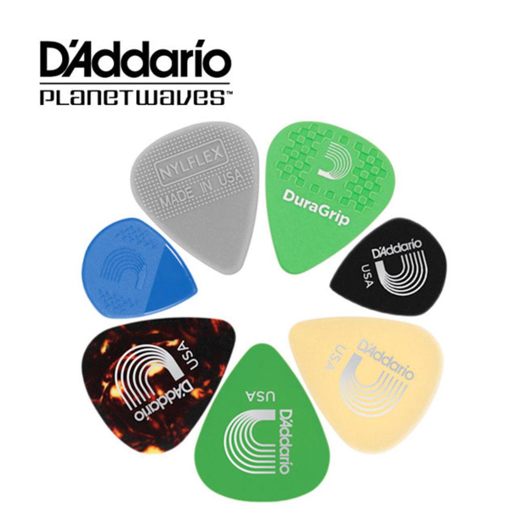 D'addario D'addario Variety Pack Picks 1XVP4-5 Lt/Med