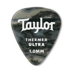 Taylor Guitars Taylor Premium 351 Thermex Ultra Picks Blk Onyx 1mm 6 pack