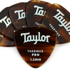 Taylor Guitars Taylor Premium 346 Thermex Pro Pick Tortoise Shell 1.5mm 6 pack