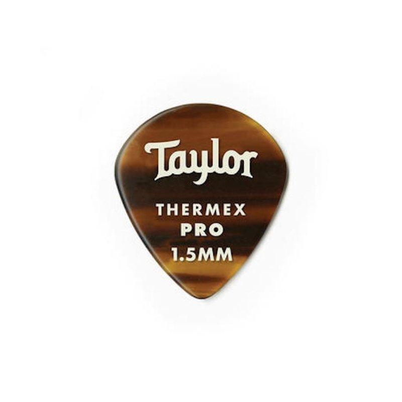 Taylor Guitars Taylor Premium 651 Thermex Pro Pick Tortoise Shell 1.5mm 6 pack