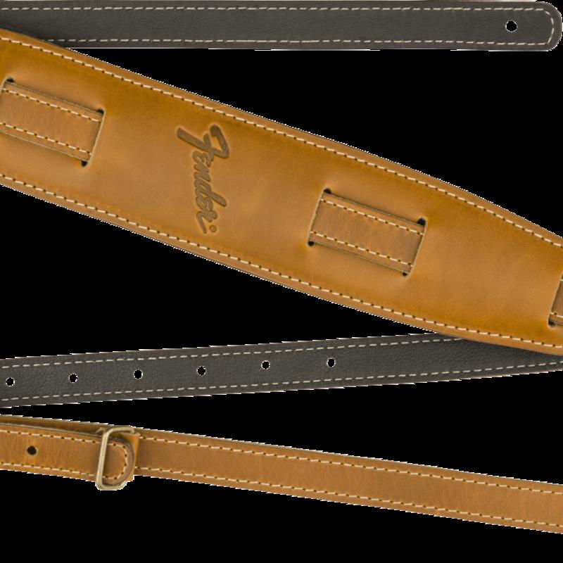 Fender Fender -  Mustang Vintage Saddle Guitar Strap Long - Butterscotch