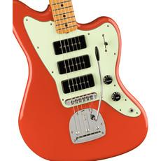 Fender Fender Noventa Jazzmaster Guitar Fiesta Red