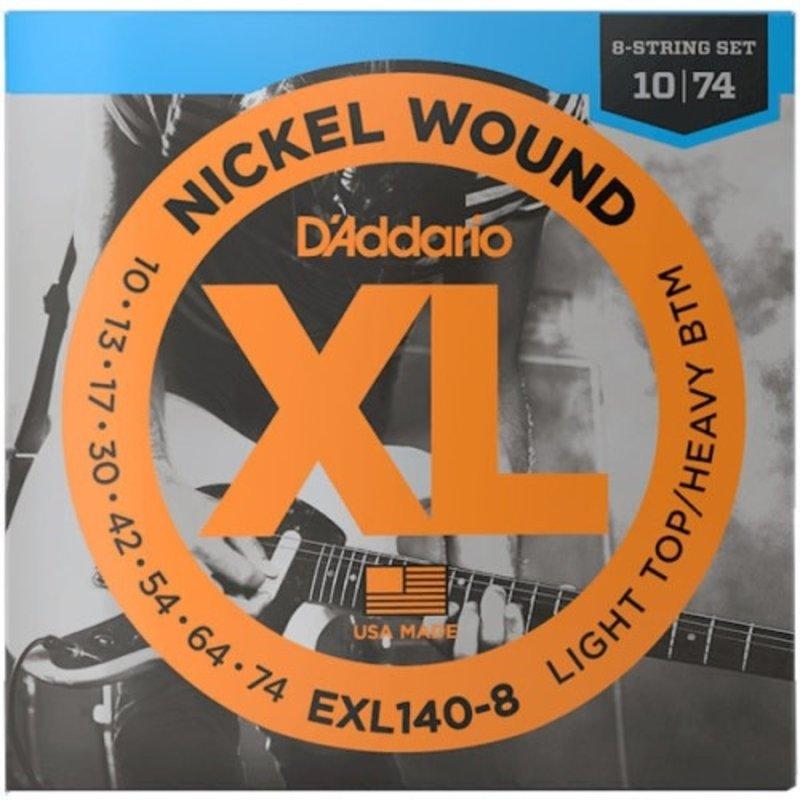D'addario D'addario Exl140-8 Electrics