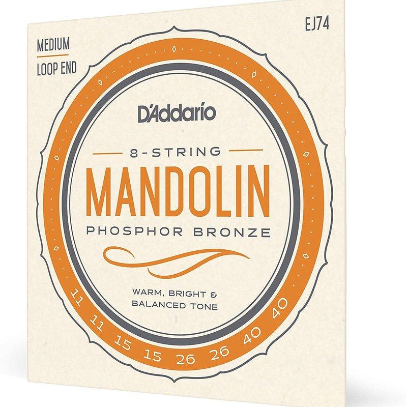 D'addario D'addario EJ74 Medium Mandolin Strings