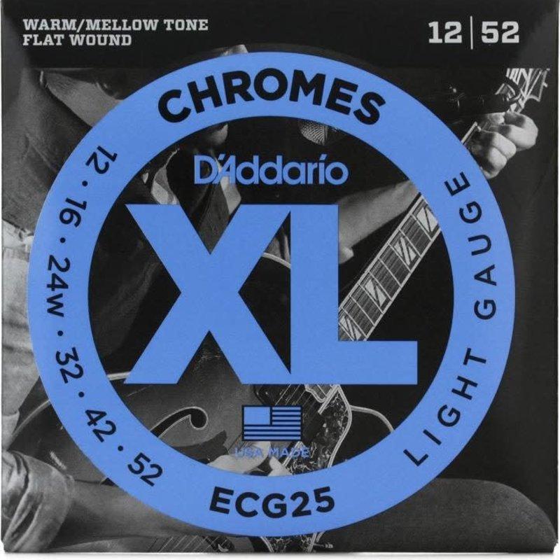 D'addario D'Addario Ecg25 Chromes