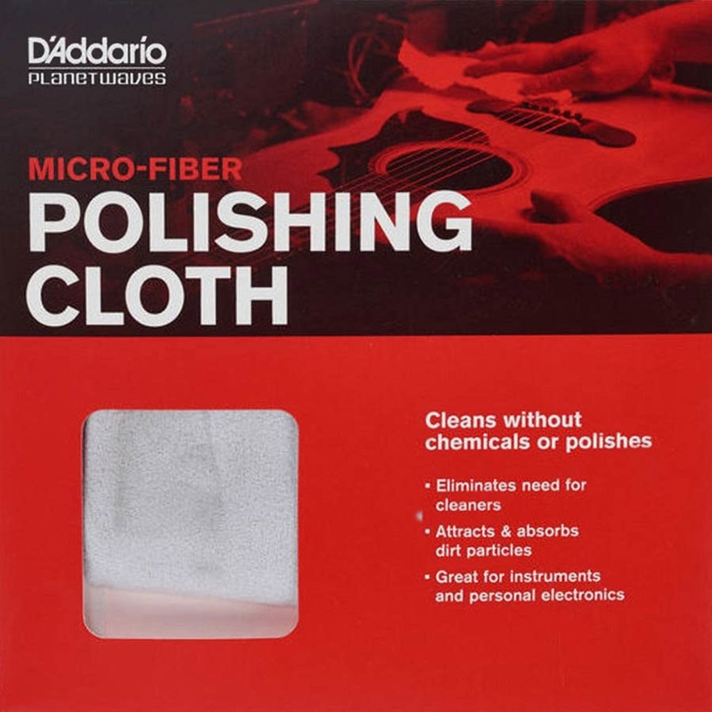 D'addario D'addario Micro-Fiber Cloth PW-MPC