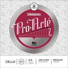 D'addario D'addario J59 Cello Strings 4/4 Medium Tension